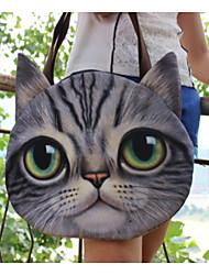 3D Cat Three-dimensional Animal  Woman Handbag