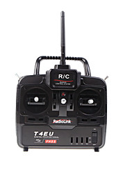 2.4G 6CH Hobby Radio Control System Transmitter with Receiver for RC Airplane and Car