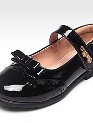 Girls' Shoes Casual Open Toe Flats Black / Pink / Red / White
