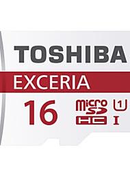 Toshiba 16GB UHS-I U1 MicroSD/MicroSDHC/MicroSDXC/TFMax Read Speed48 (MB/S)Max Write Speed48 (MB/S)