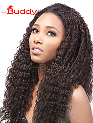 "10""-26"" India Virgin Hair Kinky Curly  Full Lace Wig&Lace Front Wig Multicolor optional  With Baby Hair for  Women"