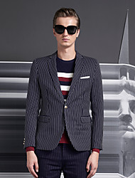 Men's leisure suit young han edition men tide British coat of cultivate one's morality men stripe small suit