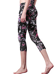 Yoga Pants Bottoms / Pants / 3/4 Tights / Crop Quick Dry / Lightweight Materials Stretchy Sports Wear Others Women's ShyelemonYoga /