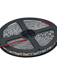 JIAWEN® 5 M 300 5050 SMD Blanc chaud / Blanc Découpable / Connectable 60 W Bandes Lumineuses LED Flexibles DC12 V
