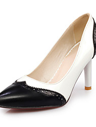 Women's Shoes Stiletto Heel Heels/Pointed Toe Pumps/Heels Casual Black/White/Multi-color