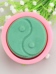 Tai Chi Shaped  Soap Molds Mooncake Mould Fondant Cake Chocolate Silicone Mold, Decoration Tools Bakeware