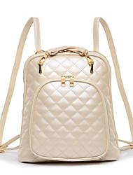Women PU Casual Clutch Backpack / Travel Bag - Beige / Green / Black