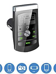 ЮКАР зарядное устройство с функцией FM-передатчик MP3-плеер, поддержка памяти TF ввода / 3,5 мм линейный вход