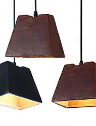 Edison Vintage Industrial Lighting Ceramic Lamp Living Room Suspension Luminaire Hanging Lighting For Home Decorate