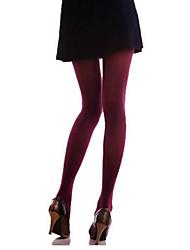 Women Warm Pantyhose , Cotton Blends / Nylon