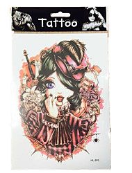 New  waterproof temporary arm Indians tattoos sexy body art removable tattoos WST-51 10/PCS