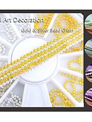 1PCS Packed 6cm Drill  Metal Chain Nail Jewelry