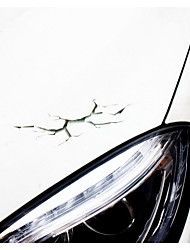 Car Stickers 3D Dimensional Car Simulation Crack Sticker