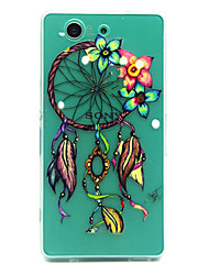 Dreamcatcher Pattern TPU Relief Back Cover Case for Sony Xperia Z3 Compact