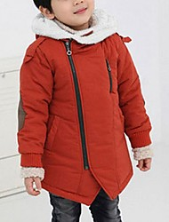 Boy's Cotton Blend Jacket & Coat , Winter Long Sleeve