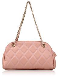 Розовый - Сумка на плечо / Сумка-шоппер - Для женщин - Яловка - Сумка-хобо