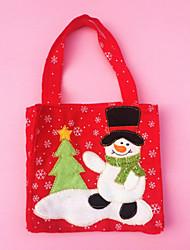 décoration sac de bonbons merry christmas tree pour les fête de noël