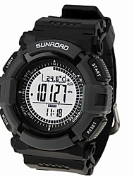 Sunroad Model OS130798 Sports Watch Water Resistant Altitude Compass Thermometer Barometer Pedometer Distance Record