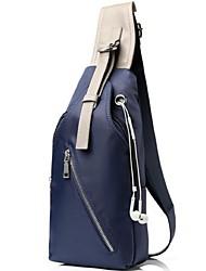 Bolsa de Ombro / Bolsa de Cintura - Masculino - Casual / Ao Ar Livre - Náilon - Azul / Preto