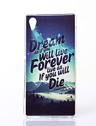 Dream Pattern TPU Soft Case for Sony M4