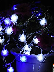 Christmas  Ktv Bars Wedding Snowdome Lights  Led Decoration Lamps Waterproof String Light 10M 100LED