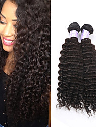 Natural Color Malaysian Virgin Hair Kinky Curly Bundles 3Pcs/Lot 100% Human Hair Curly Weave For Black Women RPG Show