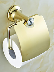 Porte Papier Toilette Bronze Huilé Fixation Murale 150x130x90mm(5.90x5.11x3.54'') Laiton Contemporain
