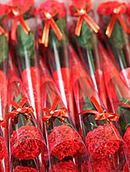 Plastique Oeillets Fleurs artificielles