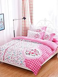 baolisi sistemas del lecho 4pcs chicas de tamaño queen cama de Corea del amor