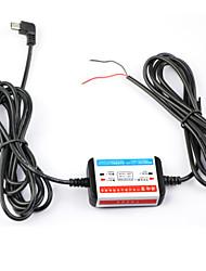 12v-24v dearroad caixa de energia hardwire prevenção exclusiva de descarga da bateria para DVR carro de interface micro usb