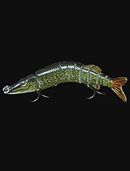 """Esche rigide / Esca Esche rigide / Luccio 1 pc , 20 g / 3/4 Oncia , 125 mm / 5"""" pollice Verde scuro Plastica dura Pesca di mare"""
