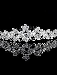 Korean Gold Leaf Bride Diamond Crown The New High-End Wedding Jewelry