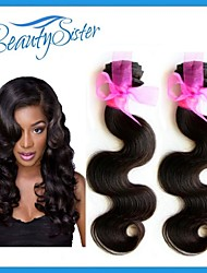 Best Quality Peruvian Virgin Hair Body Wave 2Bundles Lot 7A Grade Natural Color Unprocessed Peruvian Human Hair