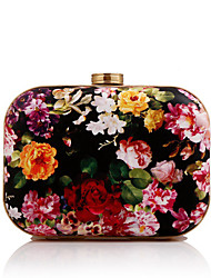 L.WEST®  Women's  Event/Party / Wedding / Evening Bag Flowers Corrugated Diamonds Delicate Handbag