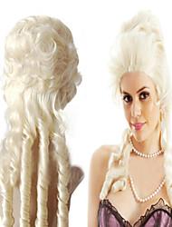 fabricants vendant du lait Europe et en Amérique Marie-Antoinette perruque boucles dorées uniques sous forme