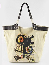 Damen - Beutel - Leinwand - Shopper - 1 # / 2 #