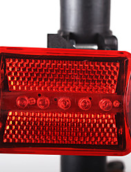 Rear Bike Light LED - Cycling Easy Carrying / Warning AAA 100LM Lumens Battery Cycling/Bike / Motocycle