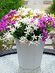 Plastique Lilas Fleurs artificielles