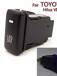 Special Dedicated 12V Car Fog Light Switch Daytime Running Lights Switch Use for TOYOTA Hilux VIGO