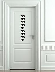 Puerta Etiqueta - Clásico - Palabra