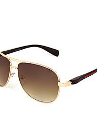 Sunglasses Men's Classic / Fashion Oversized Gold Sunglasses Full-Rim