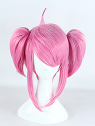 League of Legends Lux Pink Short Cosplay Wig