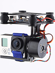 Brand CNC 2Axis Brushless Gimbal Camera Mount with Motor & Controller FPV PTZ for Gopro3 3+ 4 DJI Phantom 2 3