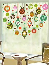 Christmas Window Sticker Contemporary , Art Deco 60m*60cm