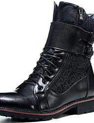 MasculinoBotas de Neve / Botas Montaria / Botas da Moda / Botas de Motocicleta / Trabalho & Segurança / Coturno / Botas de Cowboy-Rasteiro