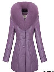DONNE - Giacche e cappotti - Informale A camicia - Maniche lunghe Misto cotone / Vera pelle / Altro