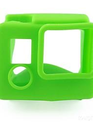 Accessoires pour GoPro,Cadre Souple Etui de protection Pratique, Pour-Caméra d'action,Gopro Hero 3+ Gopro Hero 4 Gopro Hero 4 Silver