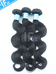 Malaysian Human Hair Body Wave Human Hair Extension 3Pcs/Lot Malaysian Hair Color 1B