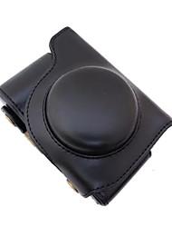 dengpin® PU-Leder Kamera Tasche Abdeckung mit Schultergurt für Olympus SH-2 sh-1 (verschiedene Farben)