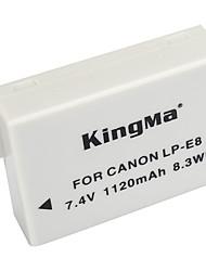 Kingma LP-E8 lp e8 lpe8 Kamera Akku für Canon EOS 550D 600D 650D 700d Kuss x4 x5 X6i x7i Rebel T2i T3i t4i t5i
